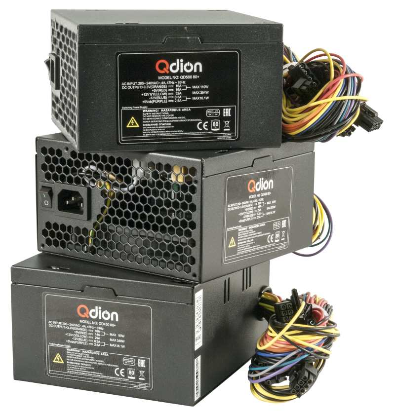 ATX PSU QDION QD400 450 500